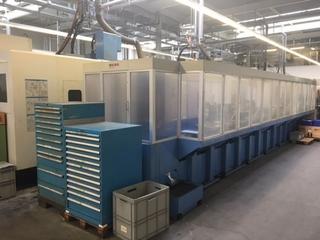 Fresatrice Mazak Variaxis 500 5X - Production line 2 machines / 14 pallets, A.  2005-5