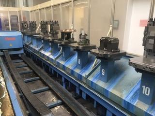 Fresatrice Mazak Variaxis 500 5X - Production line 2 machines / 14 pallets, A.  2005-9