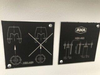Fresatrice AXA VSC 3 XTS, A.  2007-10
