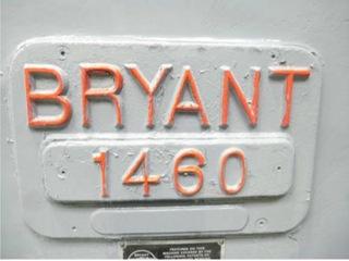 Rettificatrice Bryant 1460-7