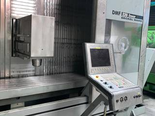 Fresatrice DMG DMF 220 linear 4ax, A.  2002-2