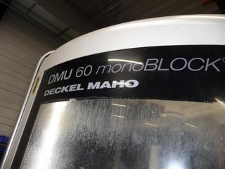 Fresatrice DMG DMU 60 monoBLOCK, A.  2010-1