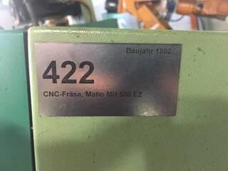 Fresatrice Maho MH 500 E 2, A.  1992-2