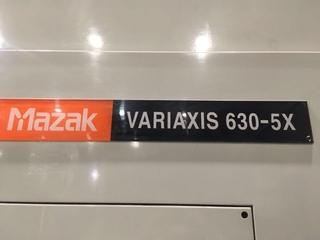 Fresatrice Mazak Variaxis 630 5X-8