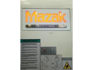 Fresatrice Mazak Variaxis i - 500, A.  2014-1