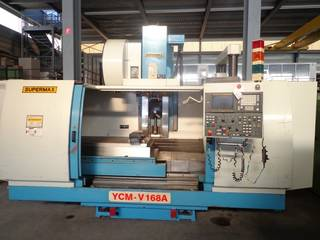 Fresatrice YCM Supermax V 168 A, A.  1998-3