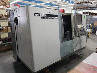 Tornio DMG CTX 310 V3-0