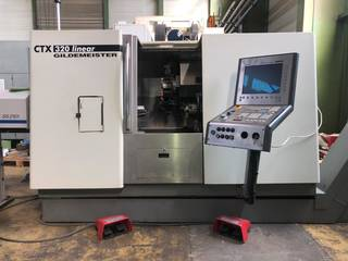 Tornio DMG CTX 320 V5-0