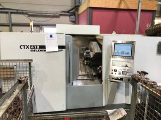 Tornio DMG CTX 410 V6-1