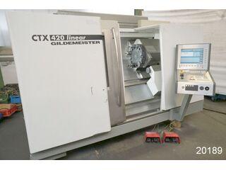 Tornio DMG CTX 420 linear-1
