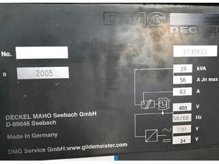 Fresatrice DMG DMC 104 V Linear, A.  2005-9