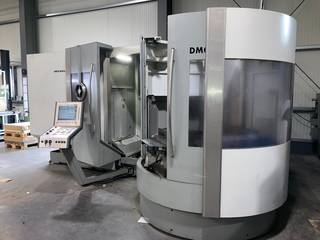Fresatrice DMG DMC 60 T RS 3-7