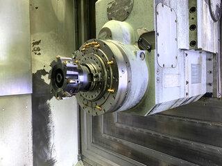 Fresatrice DMG DMC 80 H doubock-1
