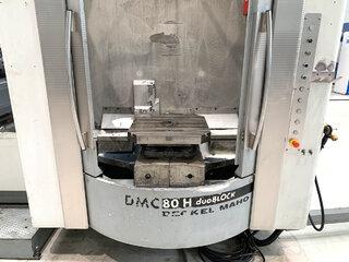 Fresatrice DMG DMC 80 H doubock-8