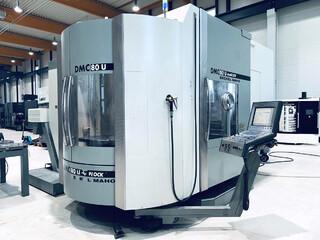 Fresatrice DMG DMC 80 U doublock, A.  2006-0