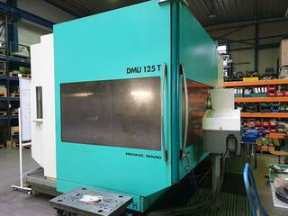 Fresatrice DMG DMU 125 T-0