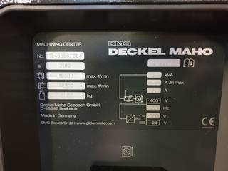 Fresatrice DMG DMU 40 evo-2