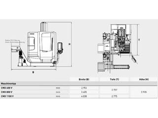 Fresatrice DMG Mori CMX 600 V-13