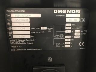 Fresatrice DMG Mori ecoMill 600V, A.  2016-3