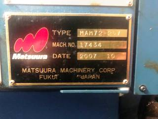 Fresatrice Matsuura MAM 72 25V-4