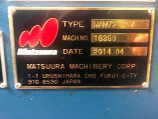 Fresatrice Matsuura MAM 72 35V, A.  2014-9