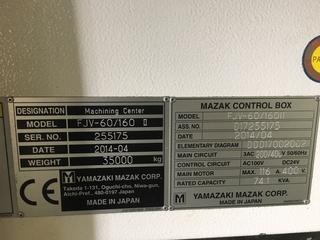 Fresatrice Mazak FJV 60/160-9