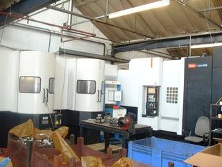 Fresatrice Mazak HCN 5000 Palletech, A.  2005-0