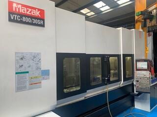 Fresatrice Mazak VTC 800 / 30 SR, A.  2008-5