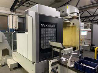 Fresatrice Mori Seiki NVX 5100 II 40-1