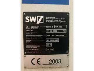 Fresatrice SW BA 600 - 4-1