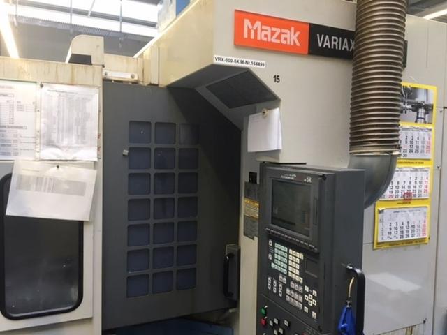 più figure Fresatrice Mazak Variaxis 500 5X - Production line 2 machines / 14 pallets, A.  2005