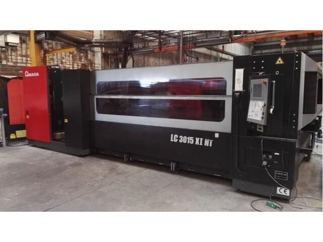 più figure Amada LC 3015 X1 NT 4000 W Sistemi di taglio laser