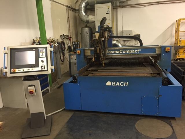 più figure Bach PlasmaCompact 1500 x 3000 macchinas di taglio al plasma