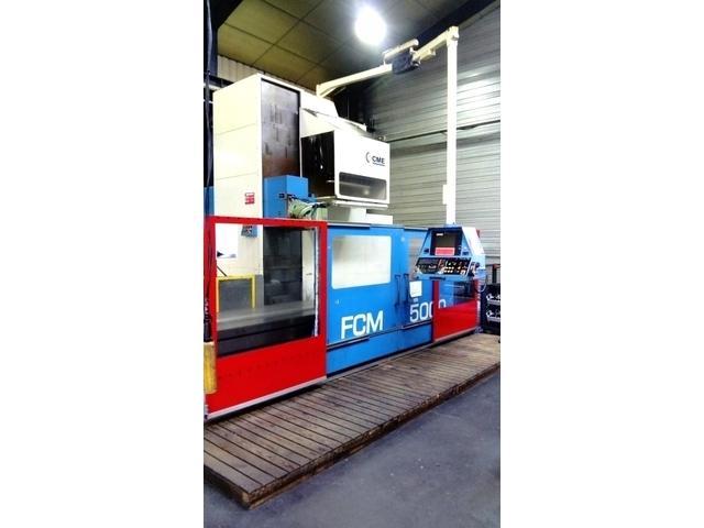 più figure CME FCM - 5000 x 950 Letto Fresatrice