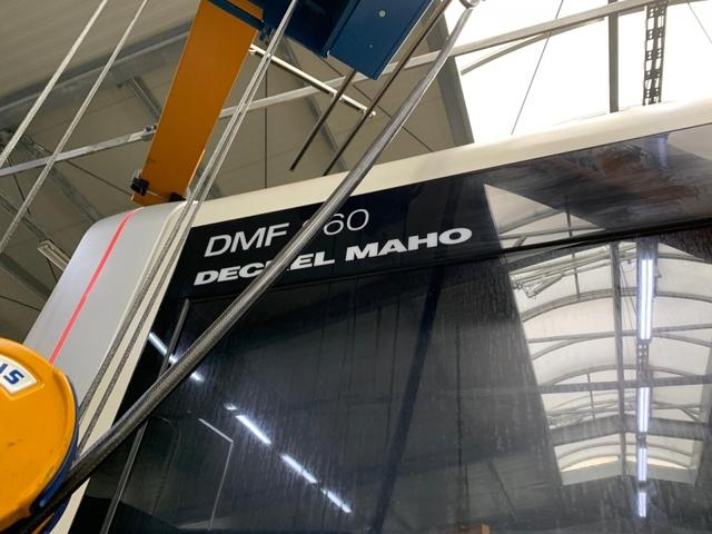 più figure Fresatrice DMG DMF 360, A.  2011