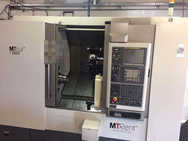 più figure Tornio MTRent MTcut T 25 SY - FNL 250 SY NL2500 Vorführmaschine/demo