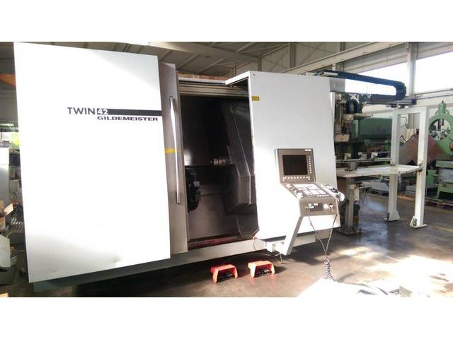 più figure Tornio DMG Twin 42