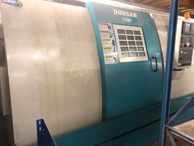 più figure Tornio Doosan S390L