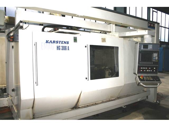 più figure Rettificatrice Emag - Karstens HG 306 A