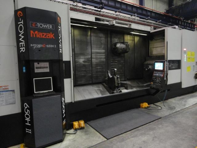 più figure Tornio Mazak Integrex E 650 H S II