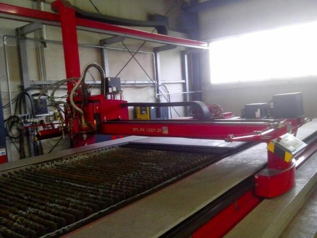più figure Microstep Europa Typ SLP-PA 15001.35 macchinas di taglio al plasma