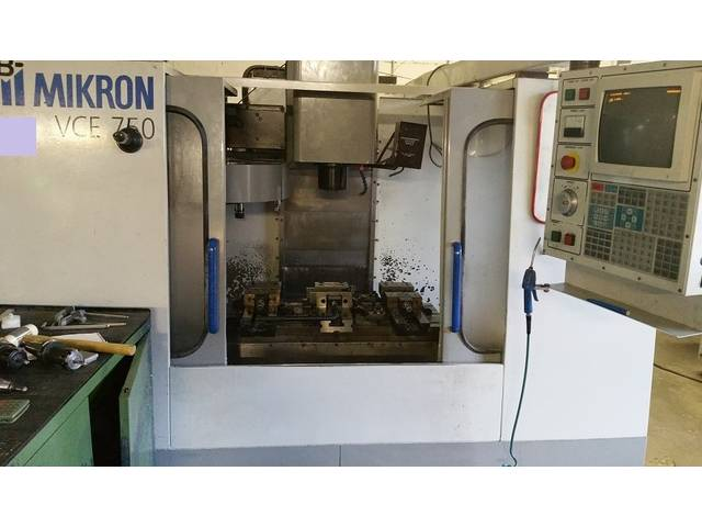 più figure Fresatrice Mikron Haas VCE 750