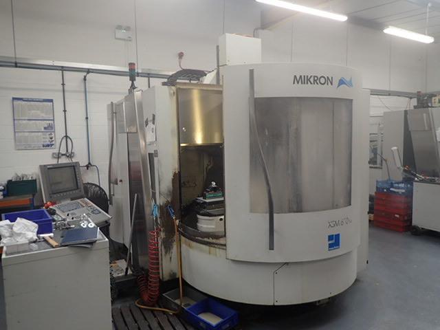 più figure Fresatrice Mikron XSM 600 U  7 apc, A.  2006