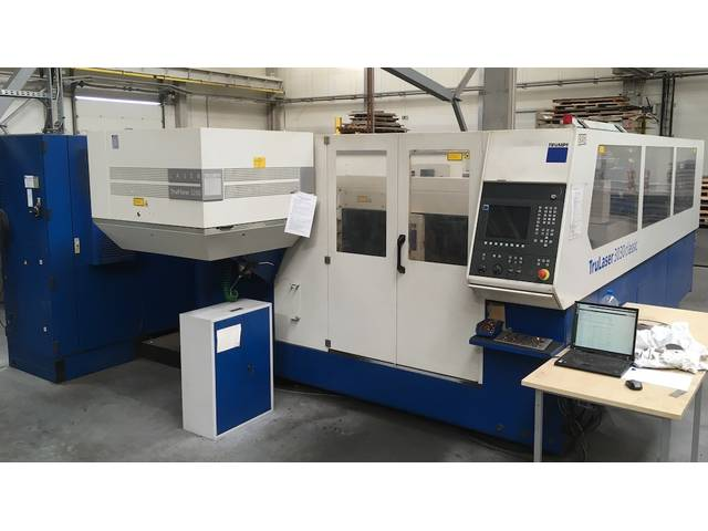 più figure Trumpf TCL 3030  3200W 300x1500x115 Sistemi di taglio laser