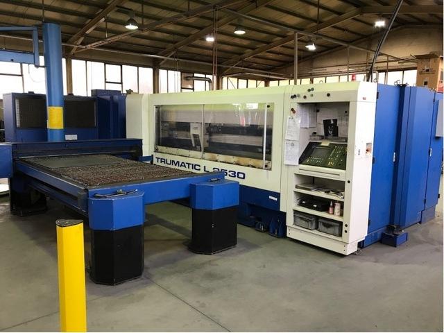 più figure Trumpf TC L 2530 - 2400 W Sistemi di taglio laser