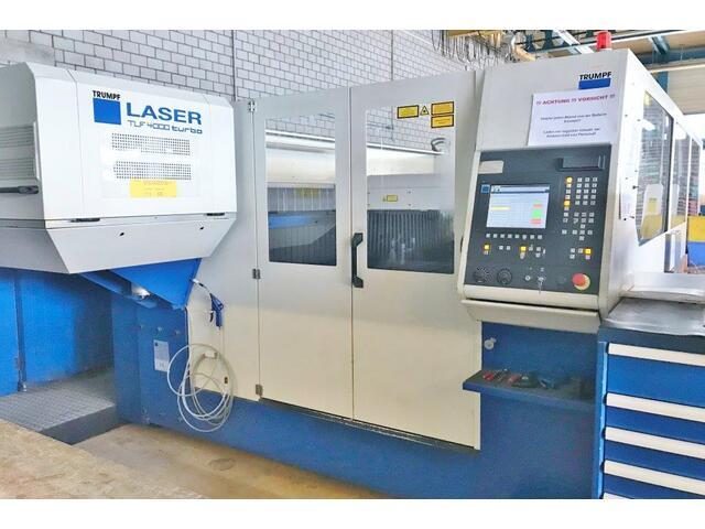 più figure Trumpf TruMatic L 3030, 4000 Watt Sistemi di taglio laser