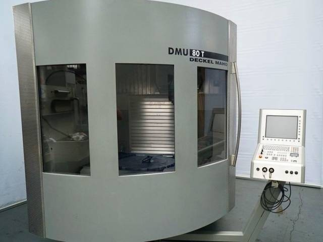 più figure Fresatrice DMG DMU 80 T