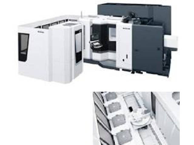più figure Fresatrice DMG Mori NHX 5000 - 6CPP