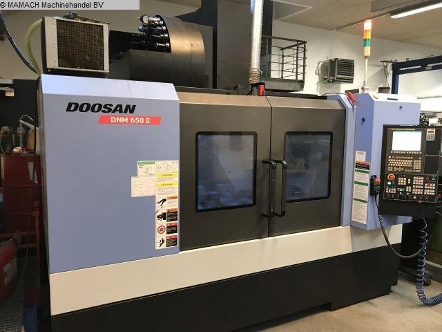 più figure Fresatrice Doosan DNM 650 II