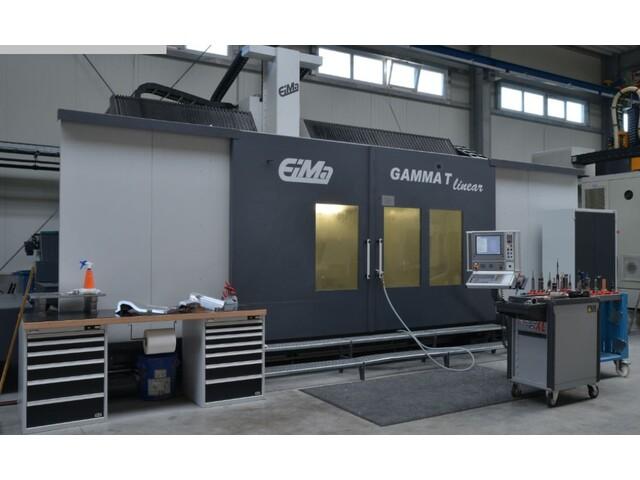 più figure EIMA Gamma T linear Fresatrici a portale